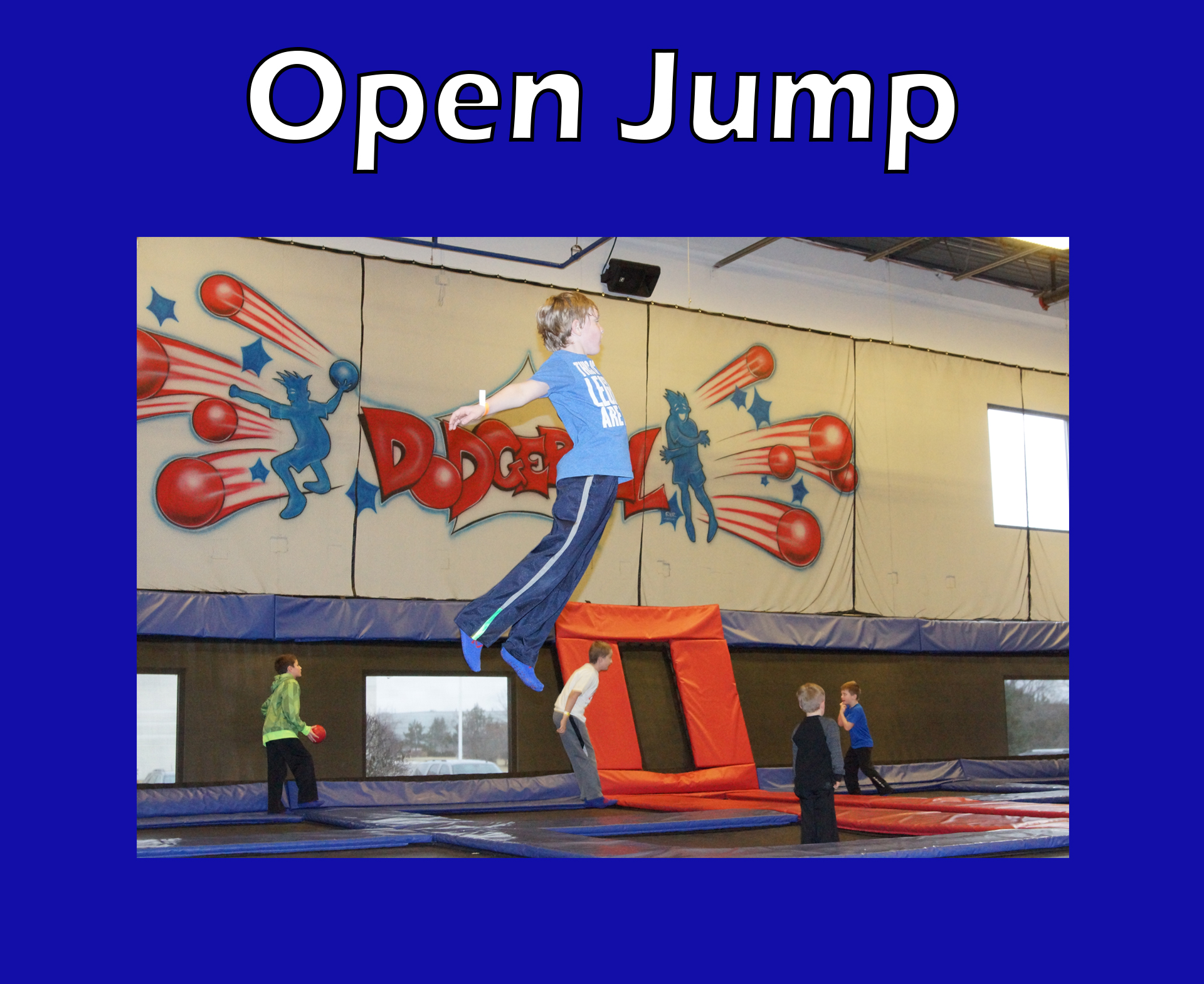 Jump & Meal Deal All Day - Jump All Day