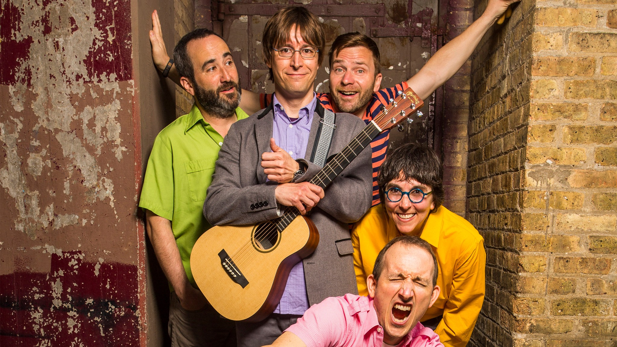 Justin Roberts & the Not Ready for Naptime Players at Marriott Theatre
