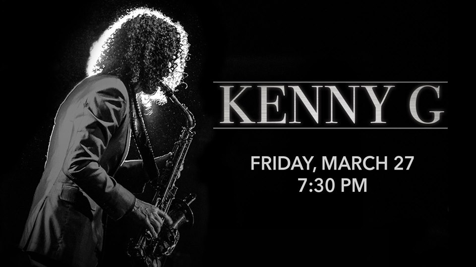 Kenny G at the Genesee Theatre