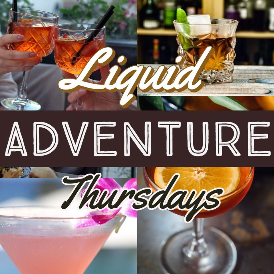Liquid Adventure Thursday's at North Shore Distillery