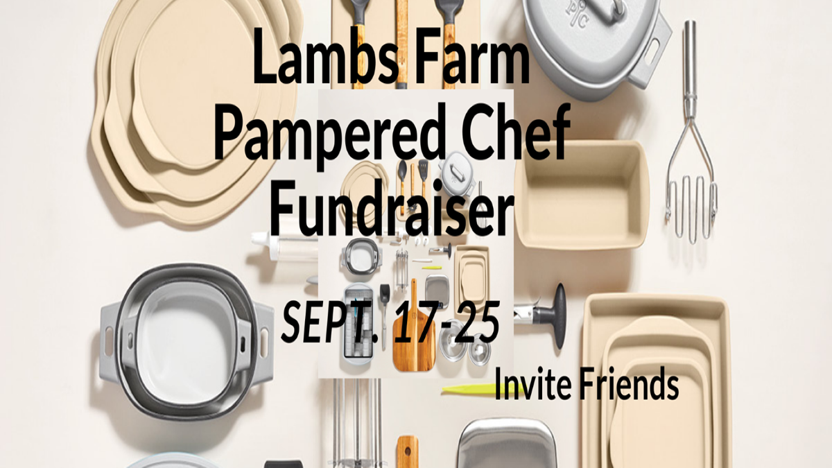 Pampered Chef Shopping via Lambs Farm