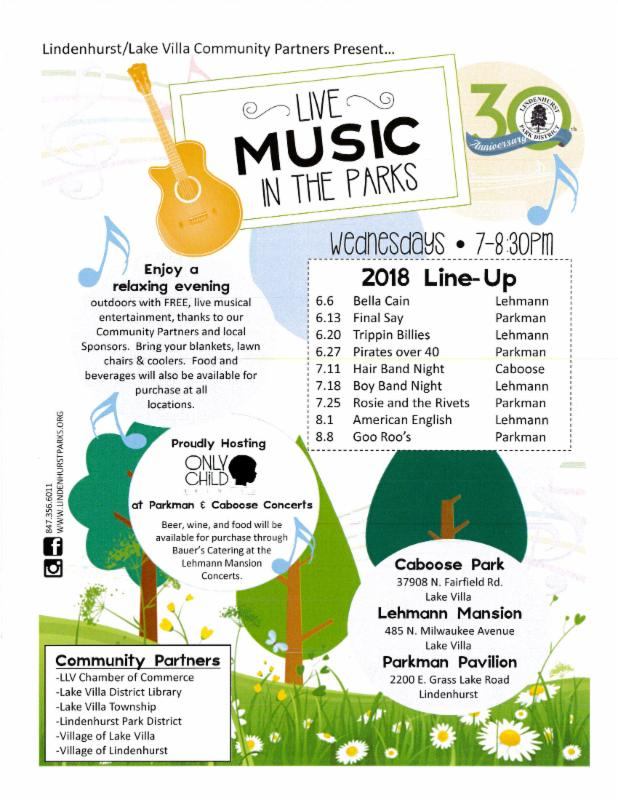 Lake County, Illinois, CVB - - Live Music in the Parks