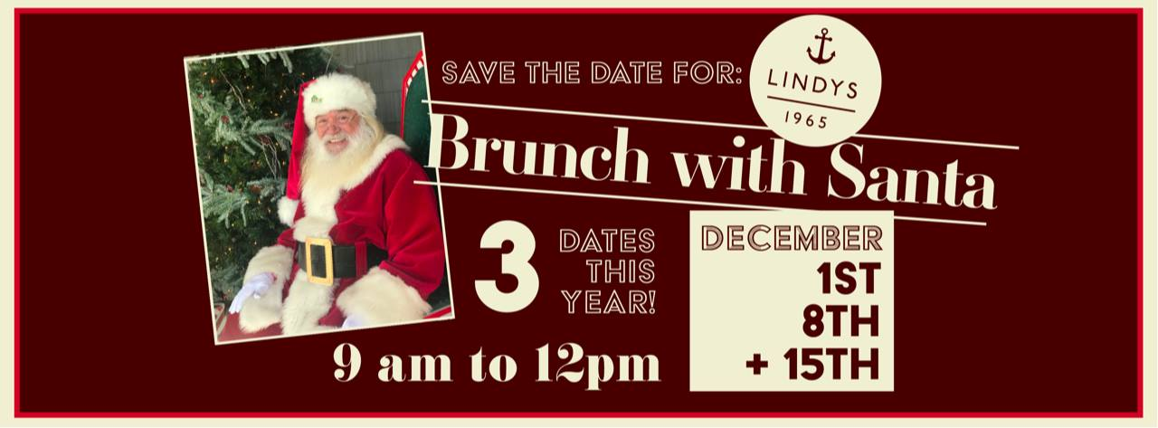 Brunch with Santa at Lindy's Landing