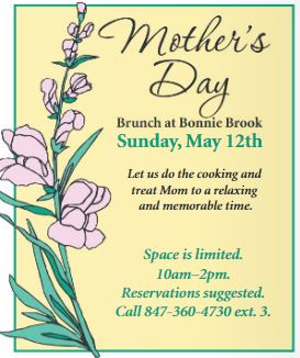 Mother's Day Brunch at Bonnie Brook