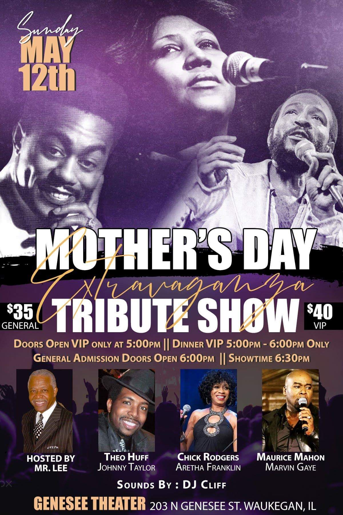 Lake County, Illinois, CVB - - Mother's Day Extravaganza Tribute Show