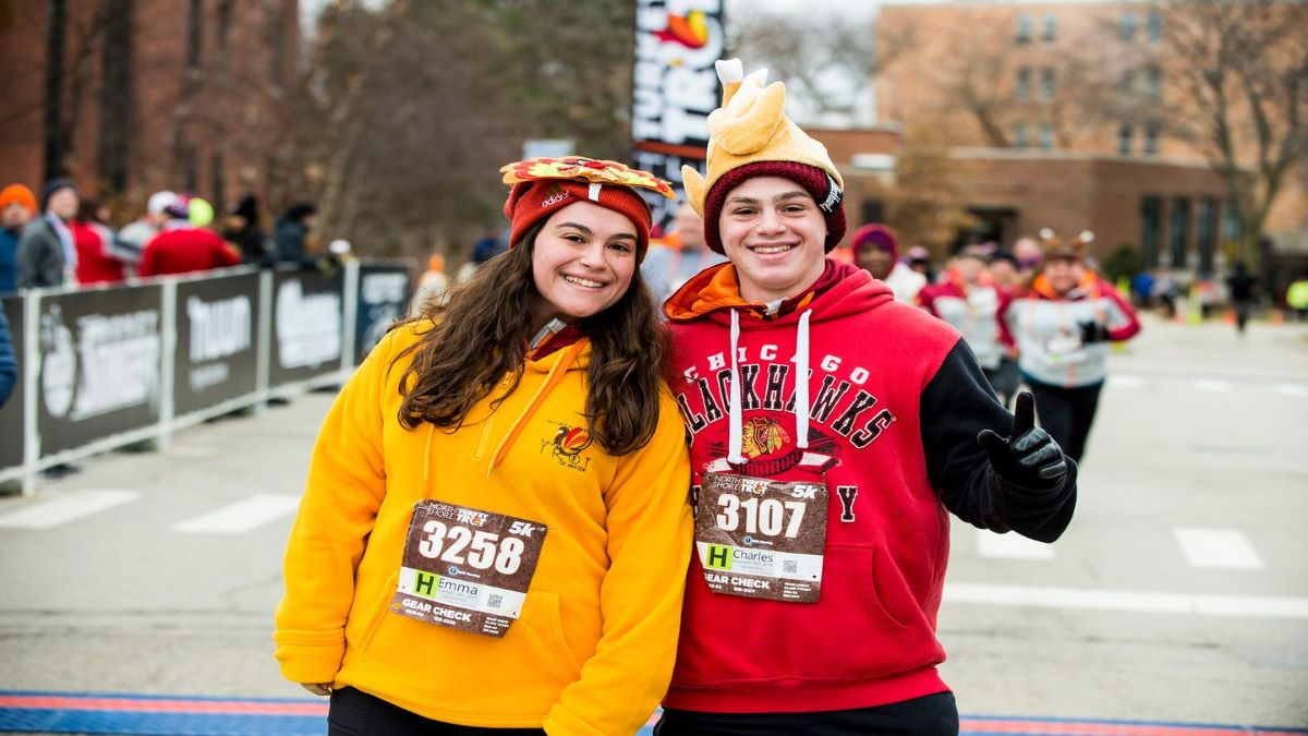 North Shore Turkey Trot 2020 in Highland Park