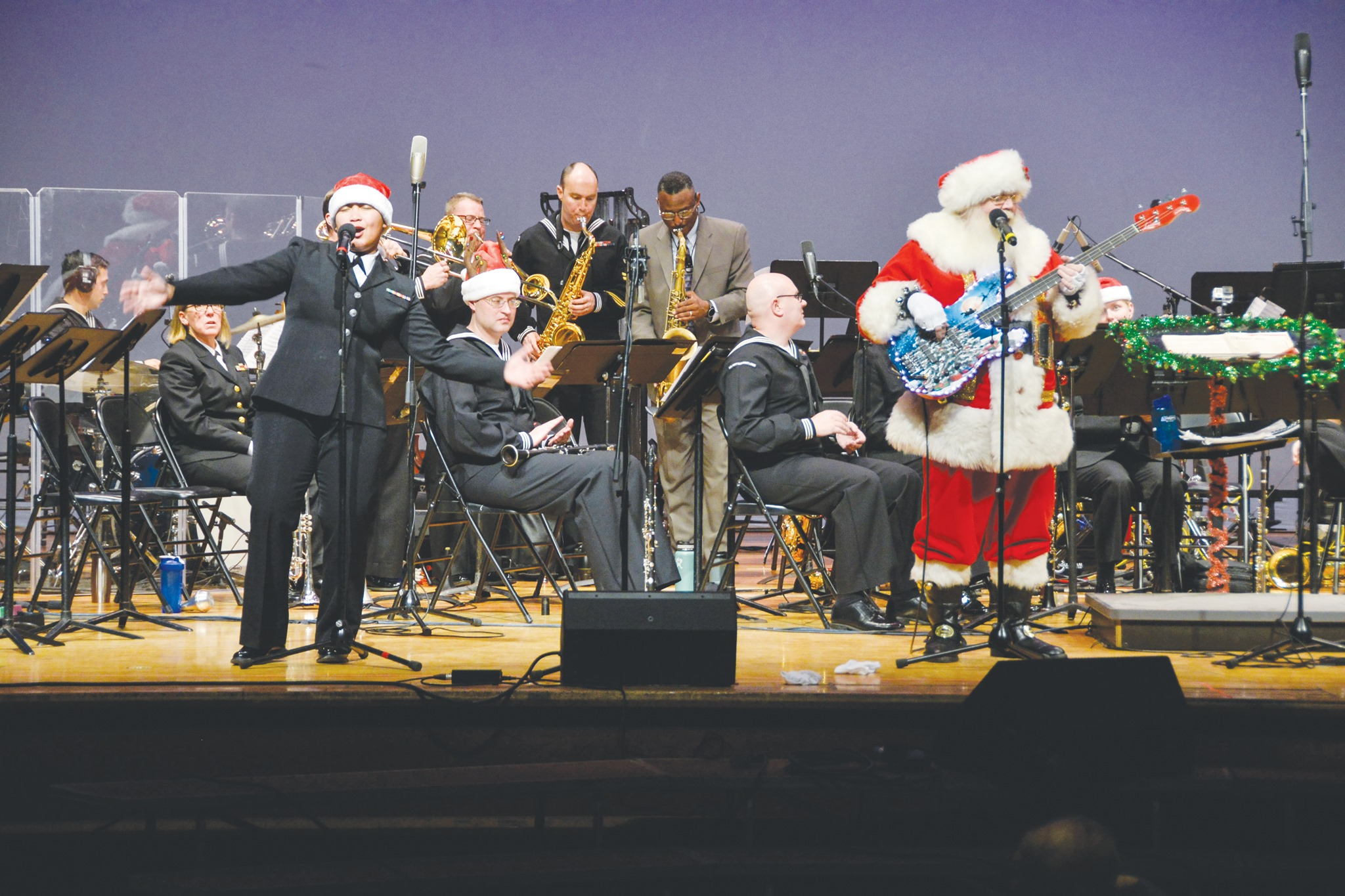 Navy Band Great Lakes Holiday Concert at Naval Station Great Lakes