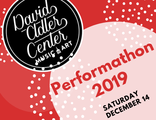 Performathon Holiday Concert and Open House at David Adler Music and Arts Center