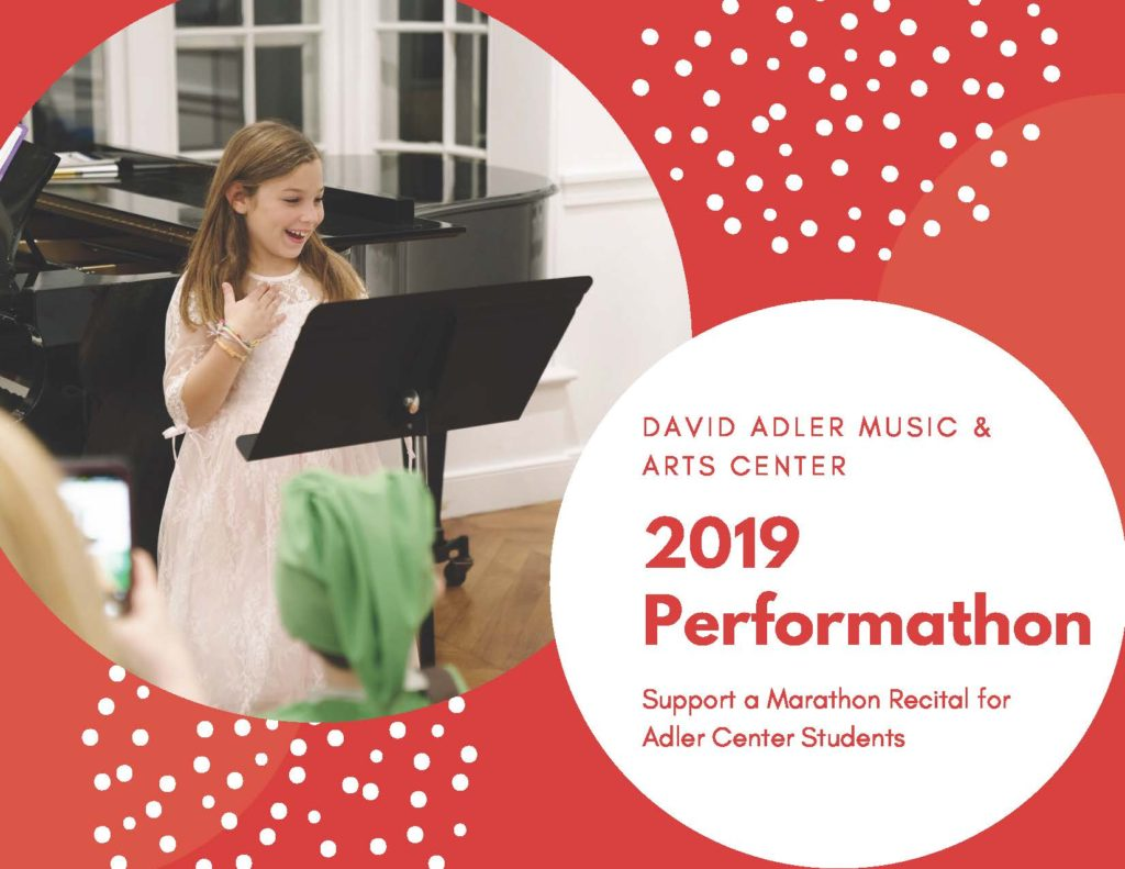 David Adler Music & Art Center 2019 Making Spirits Bright Perform-a-thon