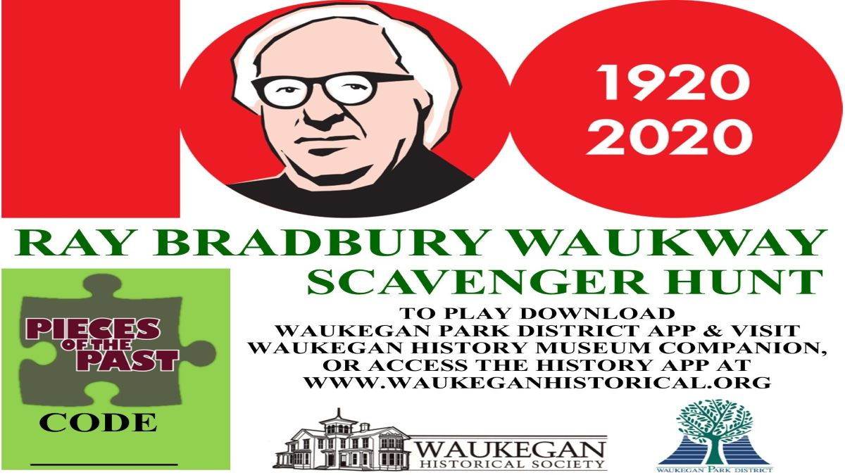 Bradbury's WaukWay by the Waukegan Historical Society