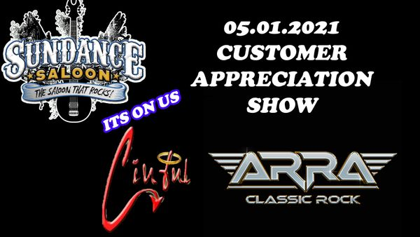 ARRA & CINFUL - CUSTOMER APPRECIATION NIGHT!