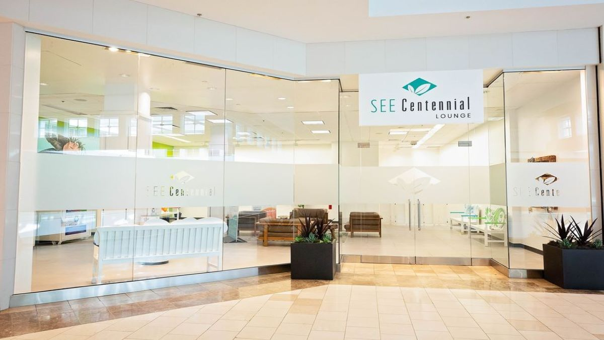 SEE Centennial Lounge Recycling at Hawthorn Mall