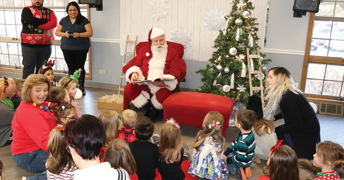 Breakfast 'N' Story with Santa in Mundelein