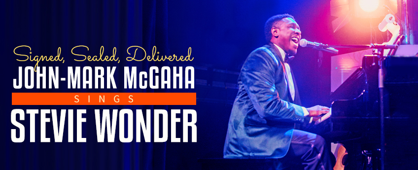 Signed, Sealed, Delivered: John-Mark McGaha Sings Stevie Wonder at Marriott Theatre