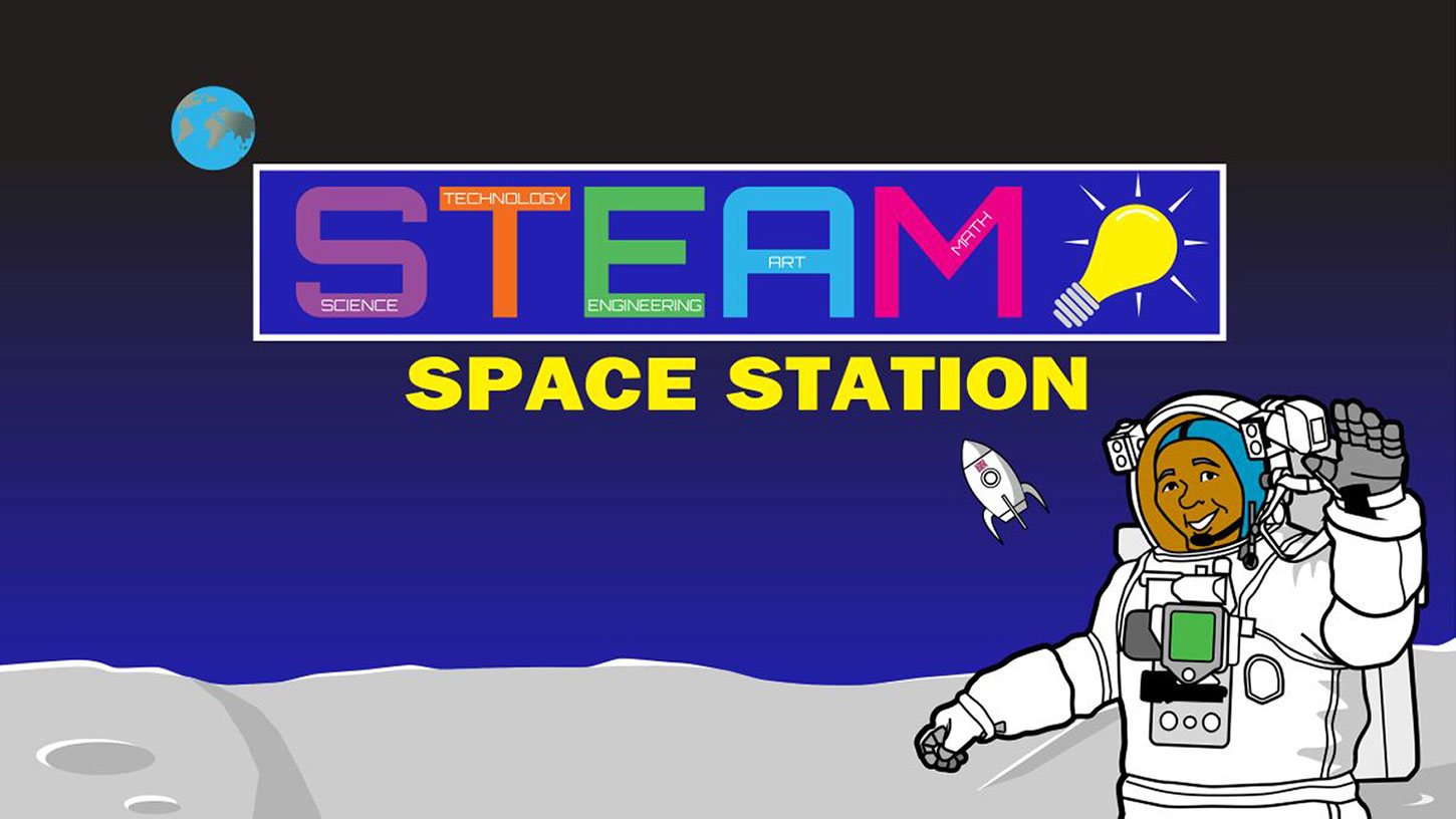 STEAM Space Station - Ready for TakeOff at Waukegan Park District