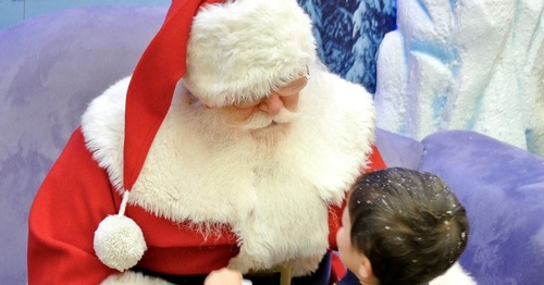 Santa's Exclusive Special Needs Visits in Antioch