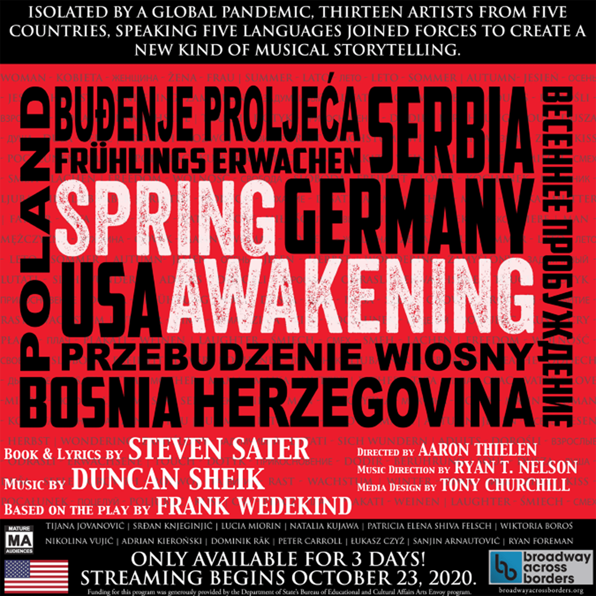 A Virtual Performance of Spring Awakening