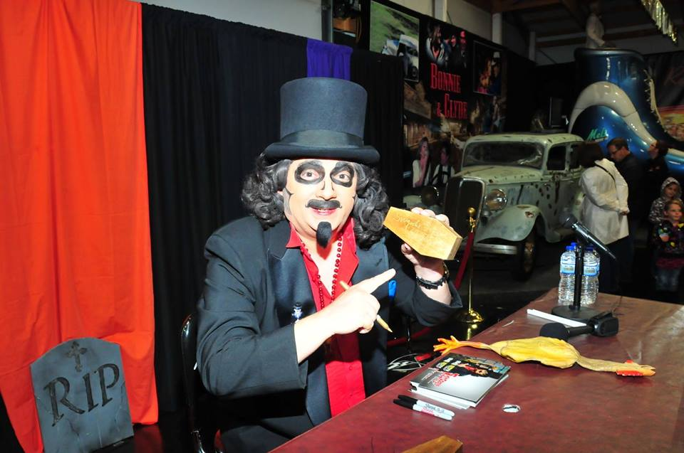 Halloween at the Volo Auto Museum with  Svengoolie Meet and Greet