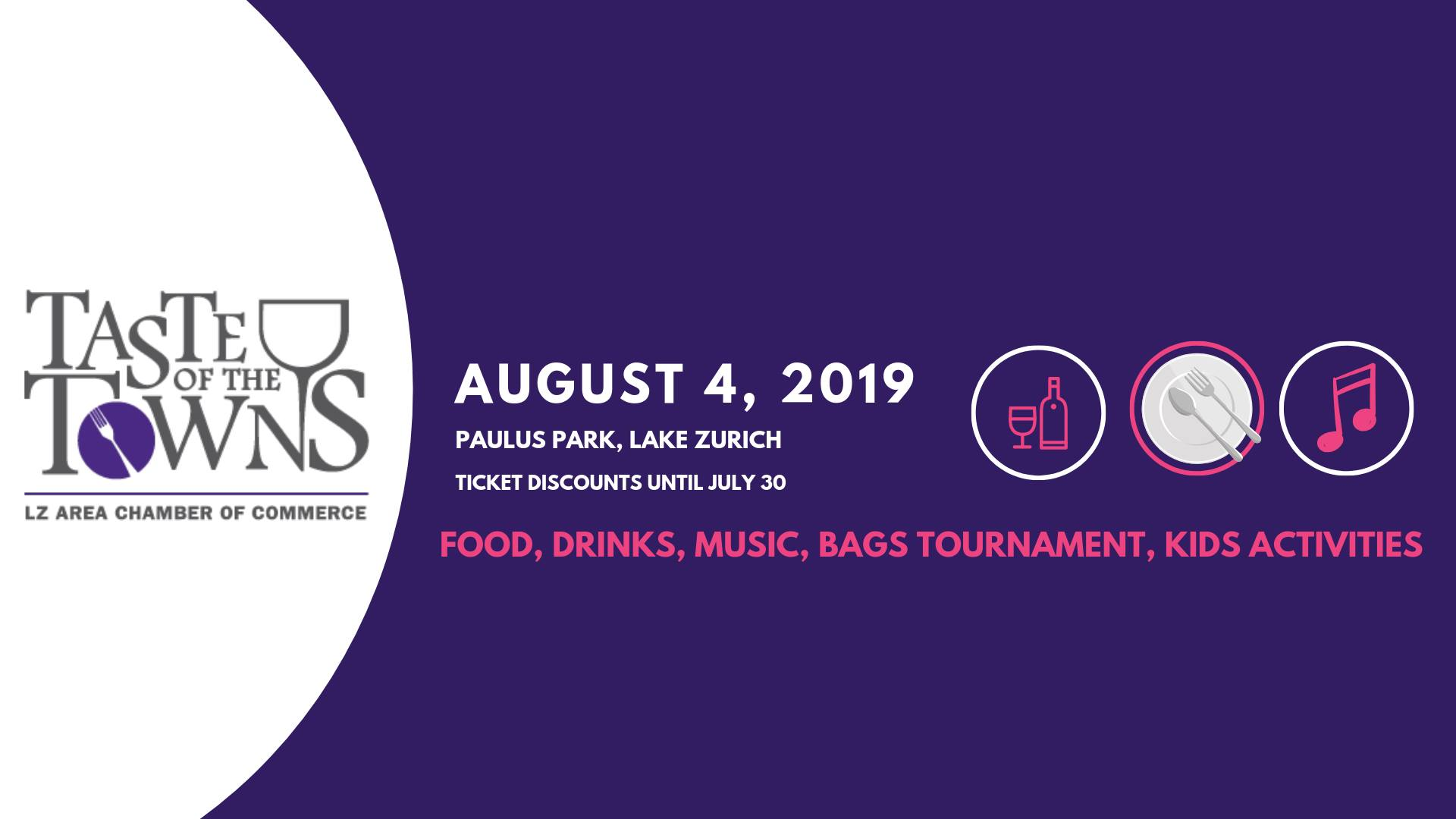 Lake County, Illinois, CVB - - Taste of the Towns in Lake Zurich