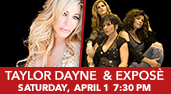 Taylor Dayne with Exposé at the Genesee Theatre