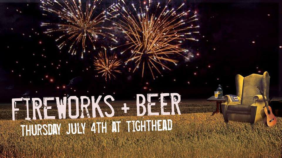 Fireworks at Tighthead Brewing Company