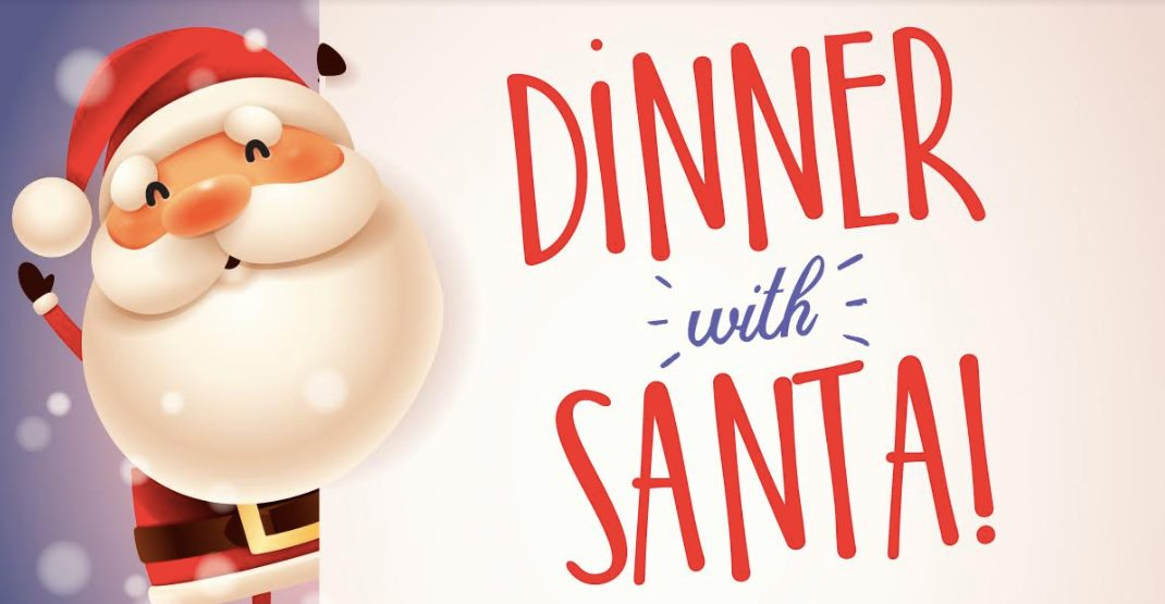 Image result for dinner with santa""
