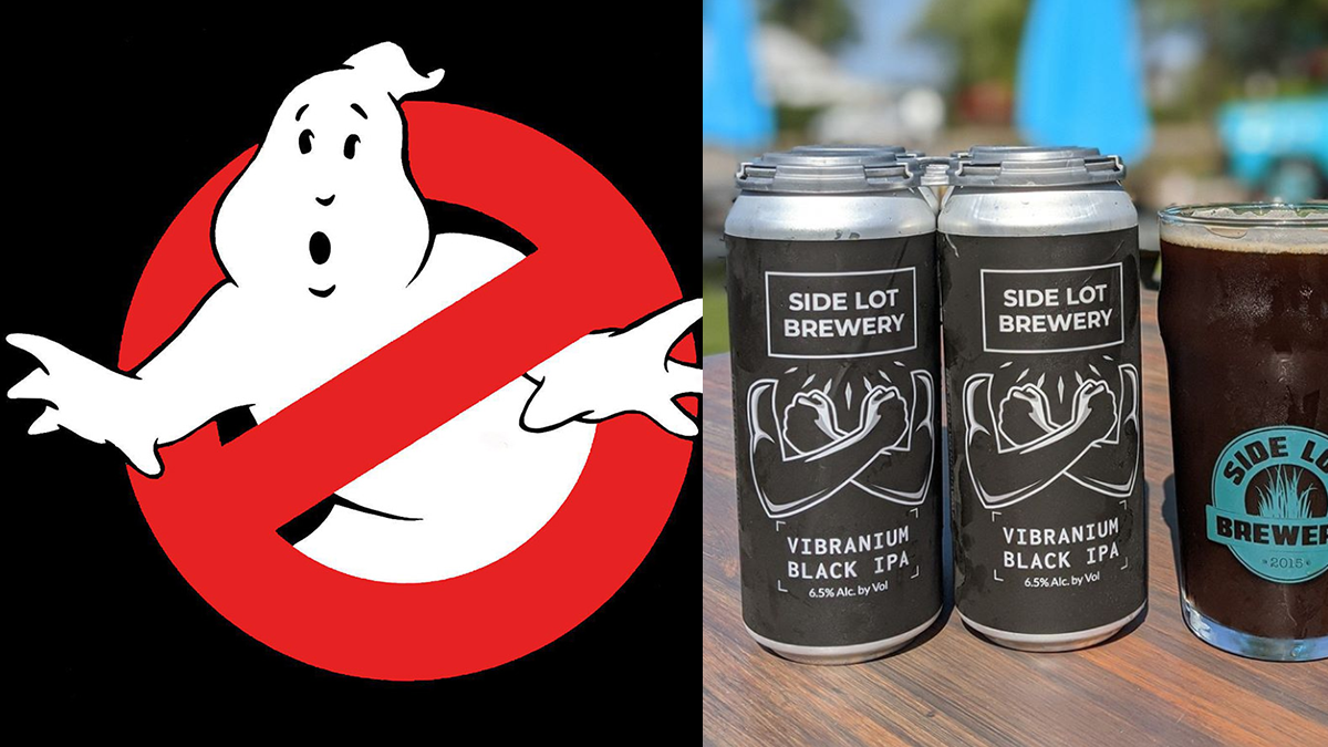 Backyard Movie Night:  Ghostbusters at Side Lot Brewery