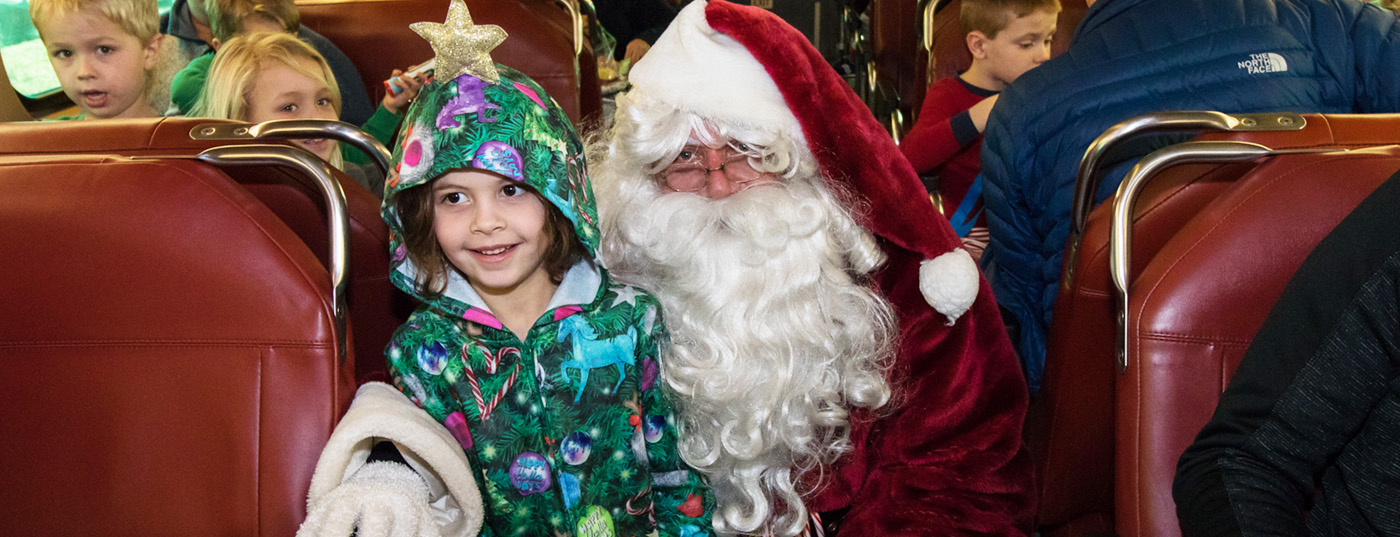 Polar Express Storytime Train in Vernon Hills