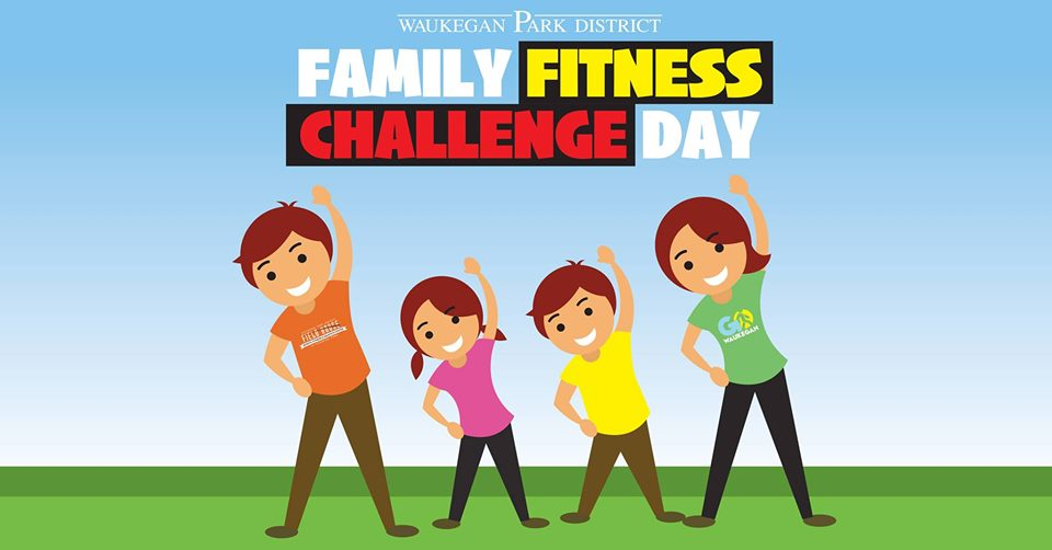 Family Fitness Challenge Day at the Field House