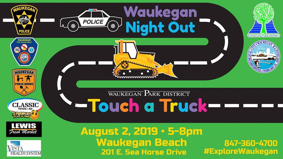 Waukegan Night Out/Touch a Truck