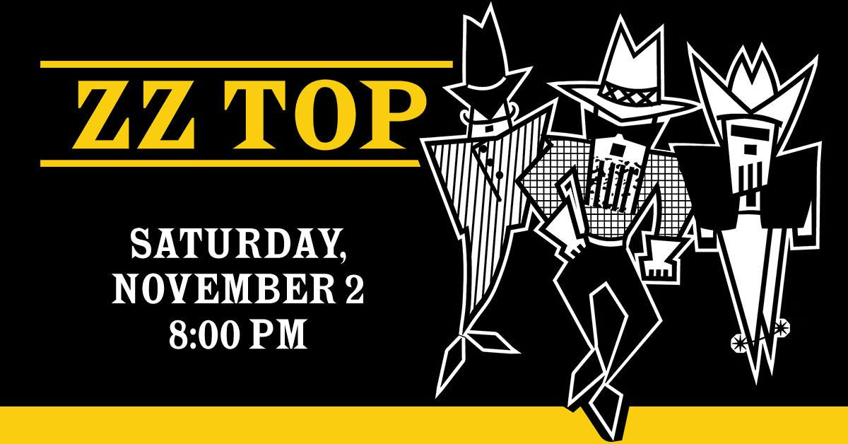 ZZ Top 50th Anniversary Tour at Genesee Theatre
