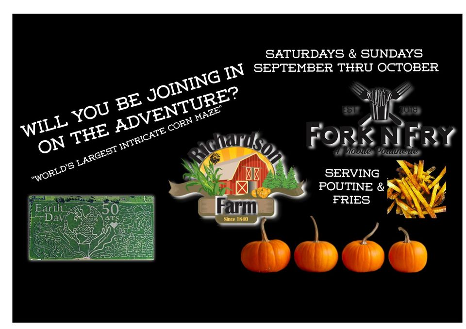 Adventure Park Pop-Up on Weekends at Richardson Adventure Farm and Corn Maze
