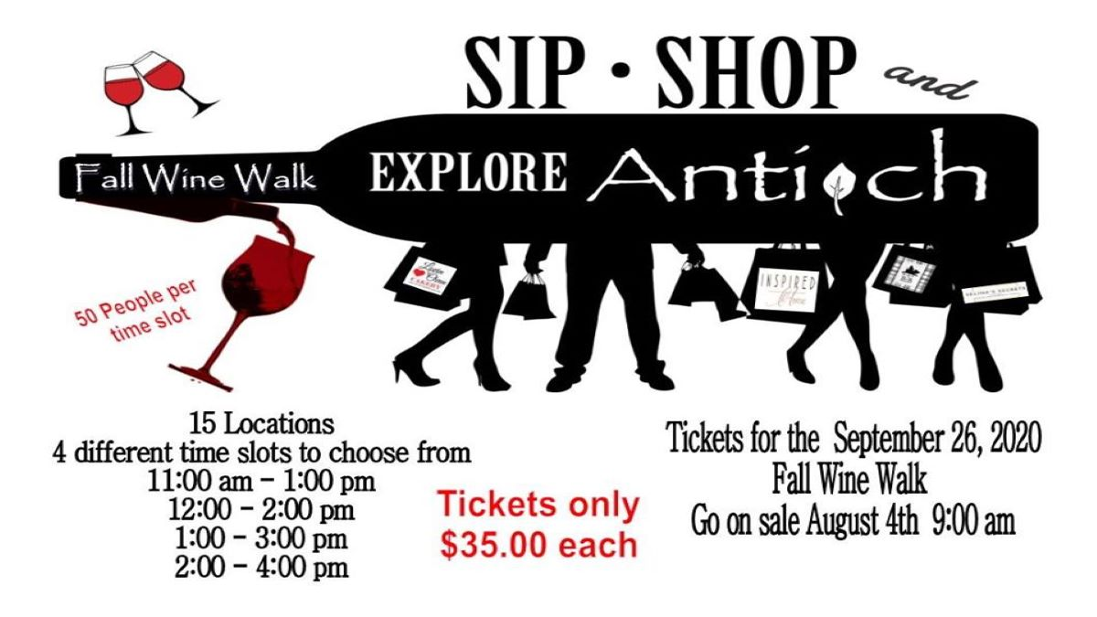 *SOLD OUT* Village of Antioch Fall Wine Walk