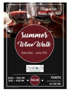 Antioch Summer Wine Walk