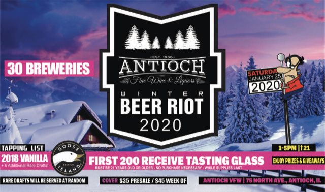 2020 Winter Beer Riot at Village of Antioch