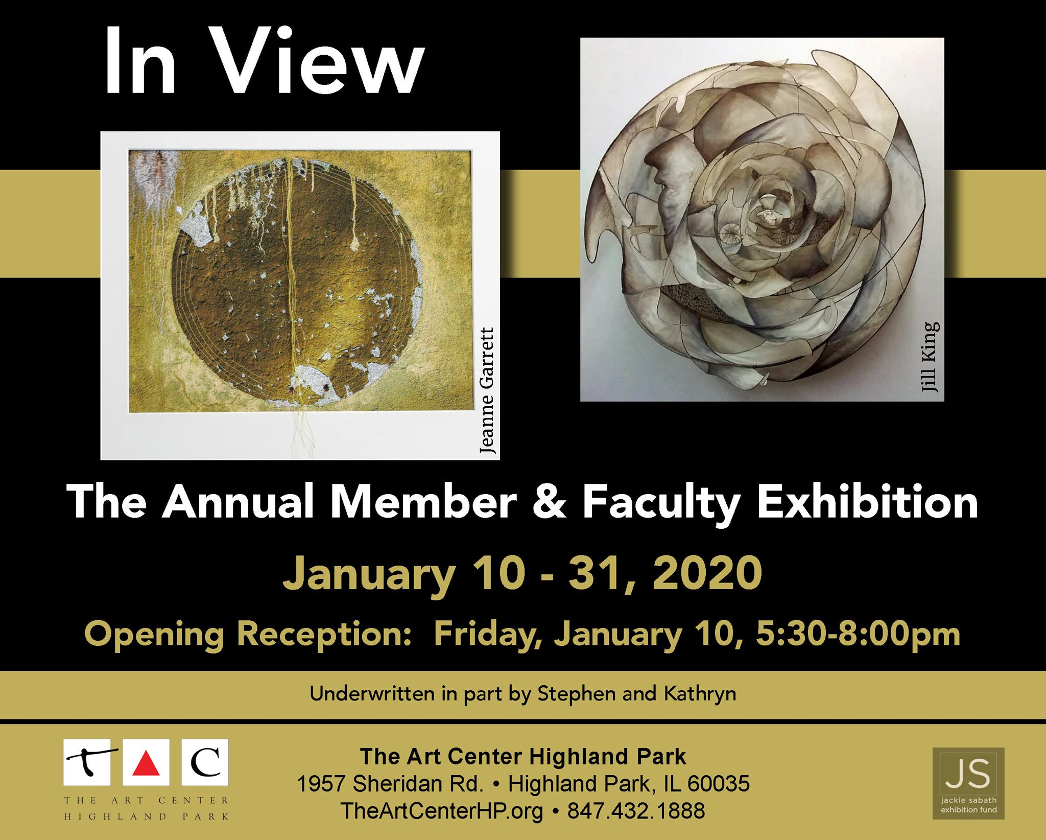 IN View TACHP Annual Member/Faculty Exhibition in Highland Park