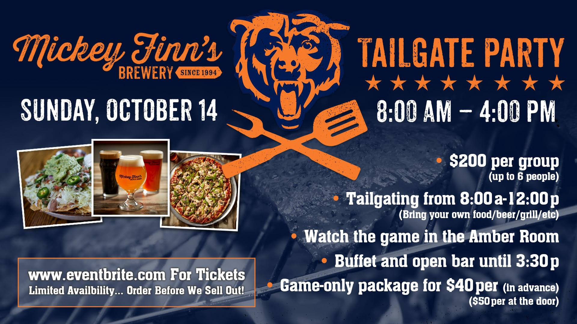 Bear's Tailgate Party