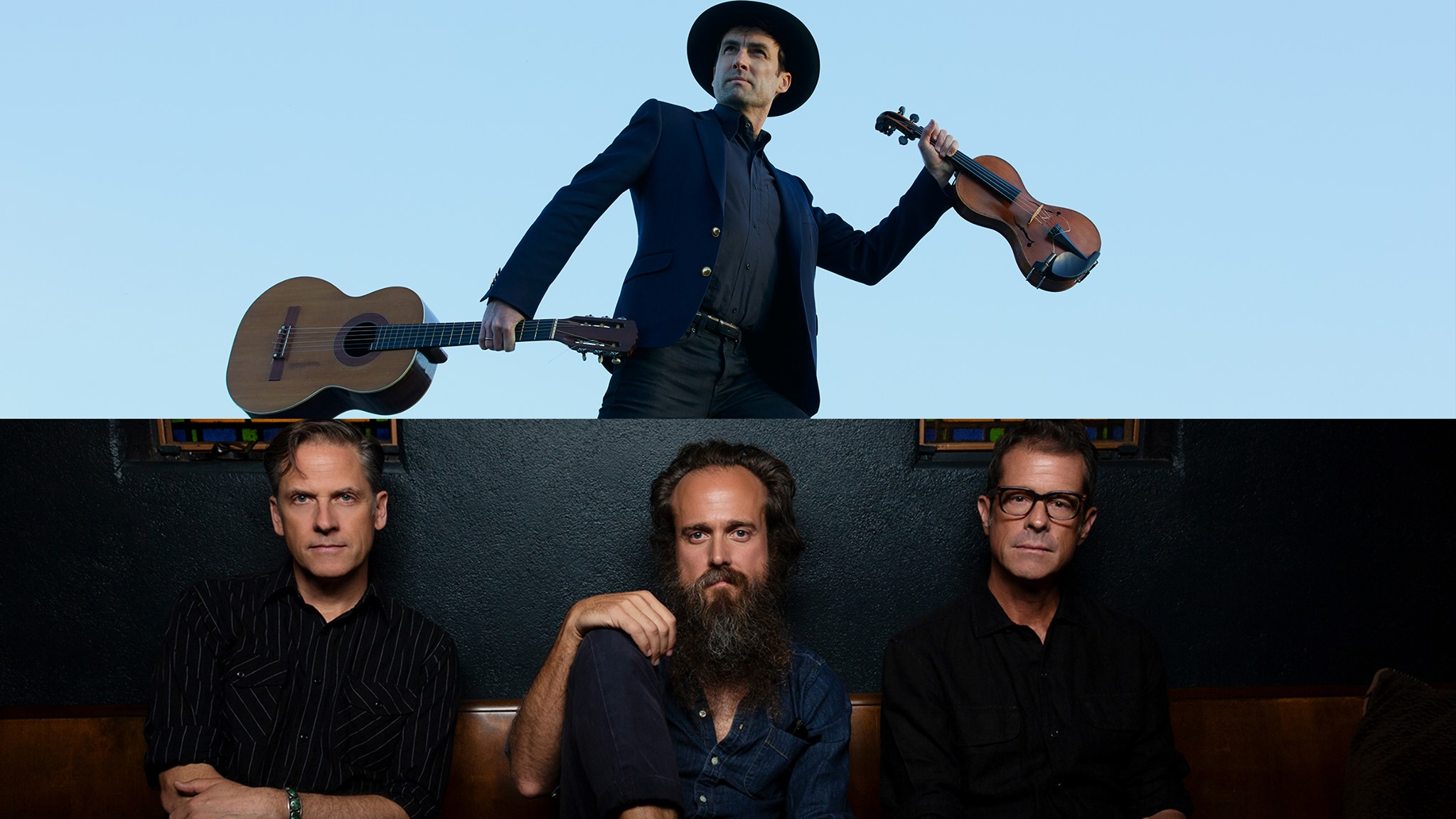 Andrew Bird and Calexico and Iron & Wine at Ravinia Festival