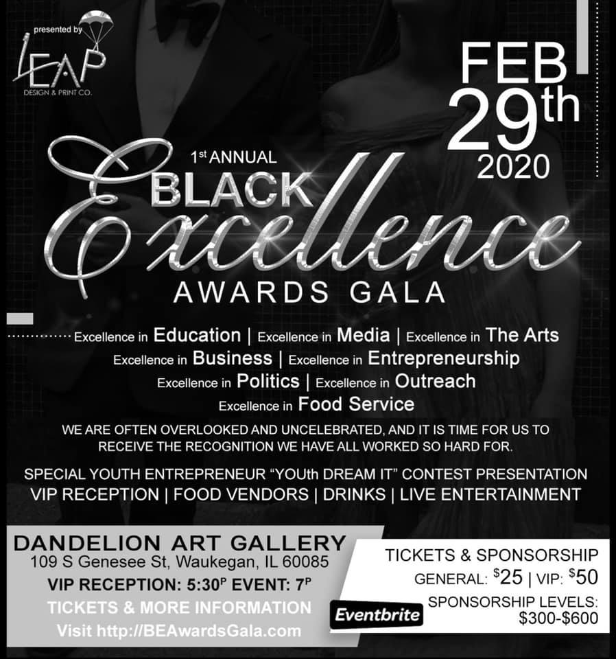 Black Excellence Awards Gala 2020