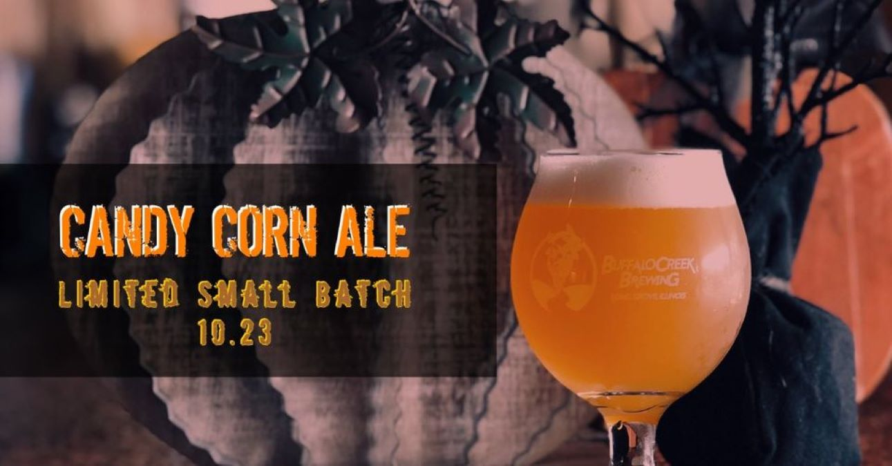 Candy Corn Ale Small Batch Release from Buffalo Creek Brewery