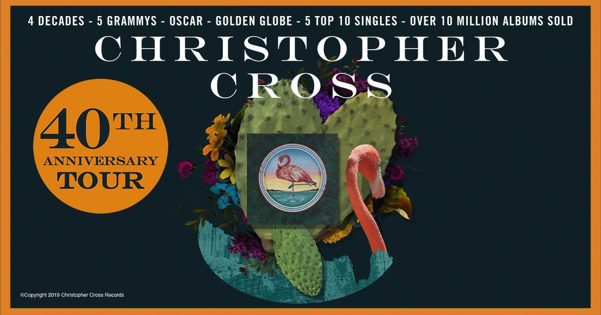NEW DATE - Christopher Cross: 40th Anniversary Tour at the Genesee Theatre