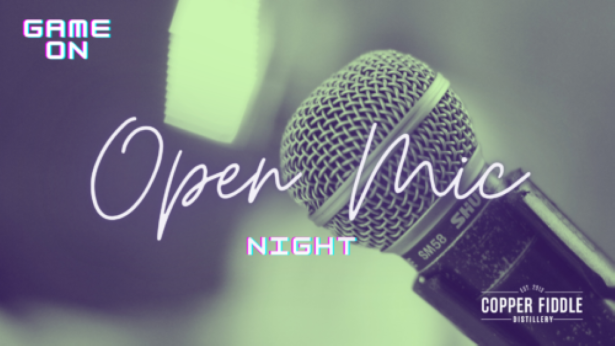 Open Mic at Copper Fiddle Distillery