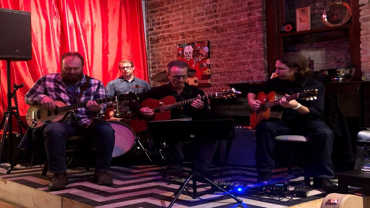 Chanson du Chat performs at Copper Fiddle Distillery