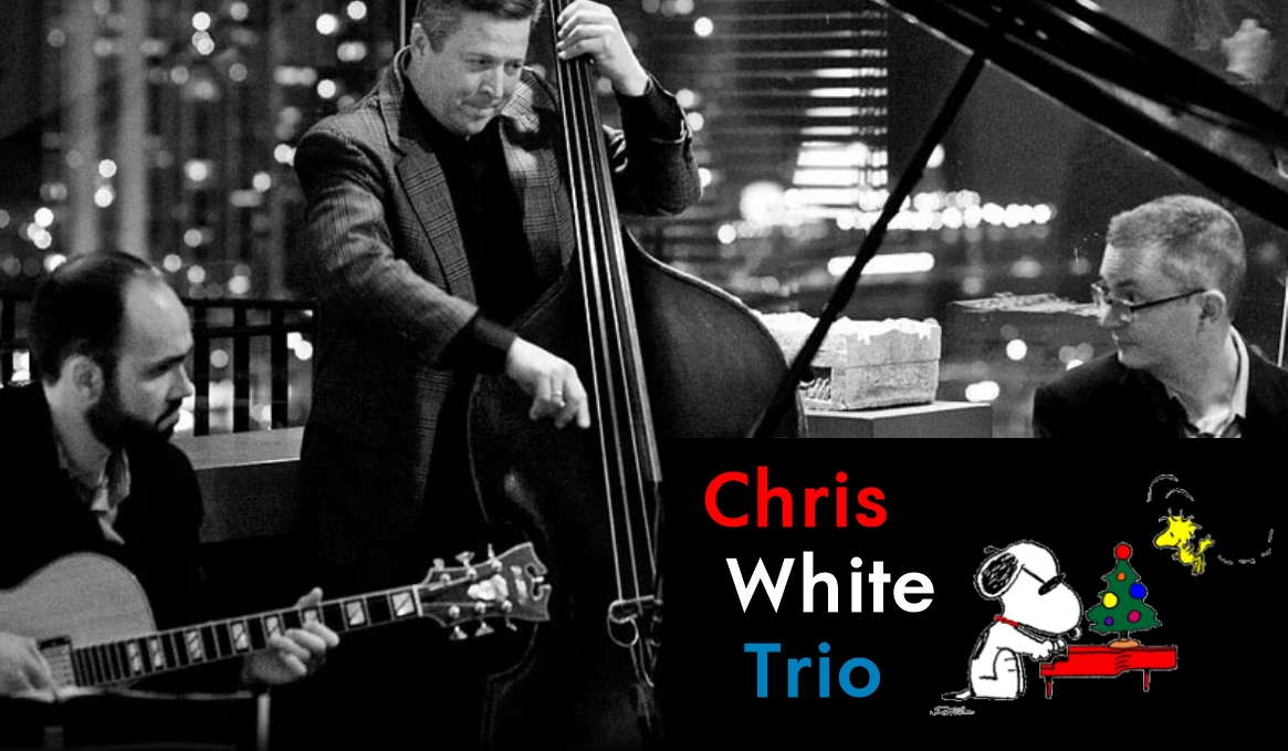 Charlie Brown Christmas Jazz with Chris White Trio at the Gorton Community Center