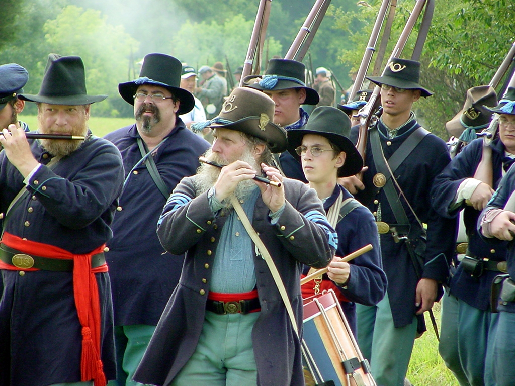 Hainesville's Civil War Encampment & Battle