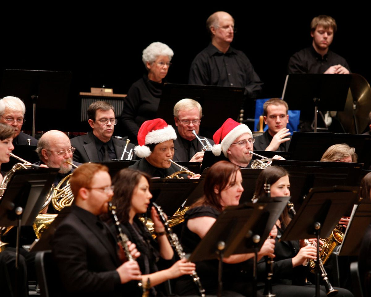 CLC Wind Ensemble Holiday Concert at the James Lumber Center