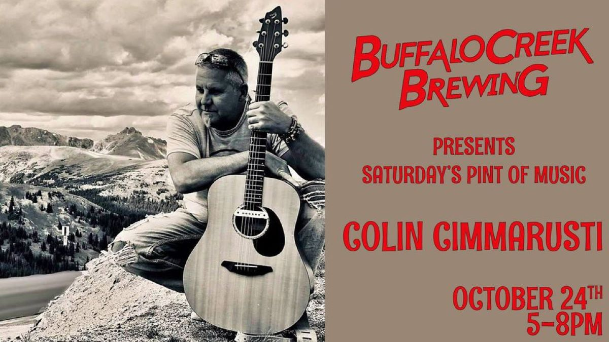 Pint of Music - Colin Cimmarusti at Buffalo Creek Brewery