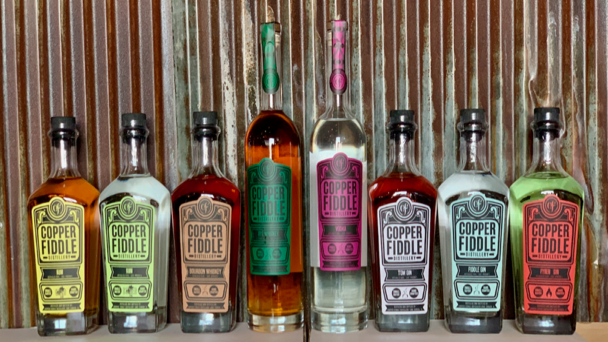 Tour and Cocktail Class at Copper Fiddle Distillery