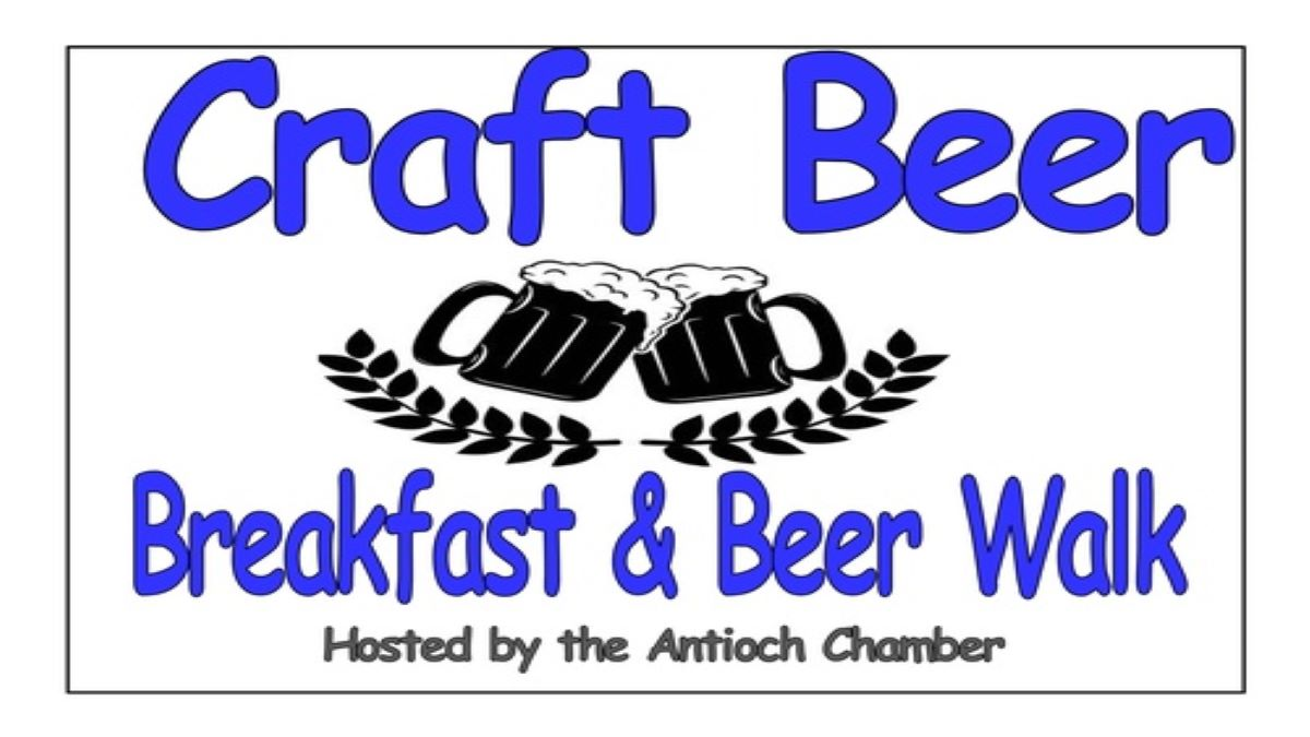 Antioch's Breakfast and Beer Walk