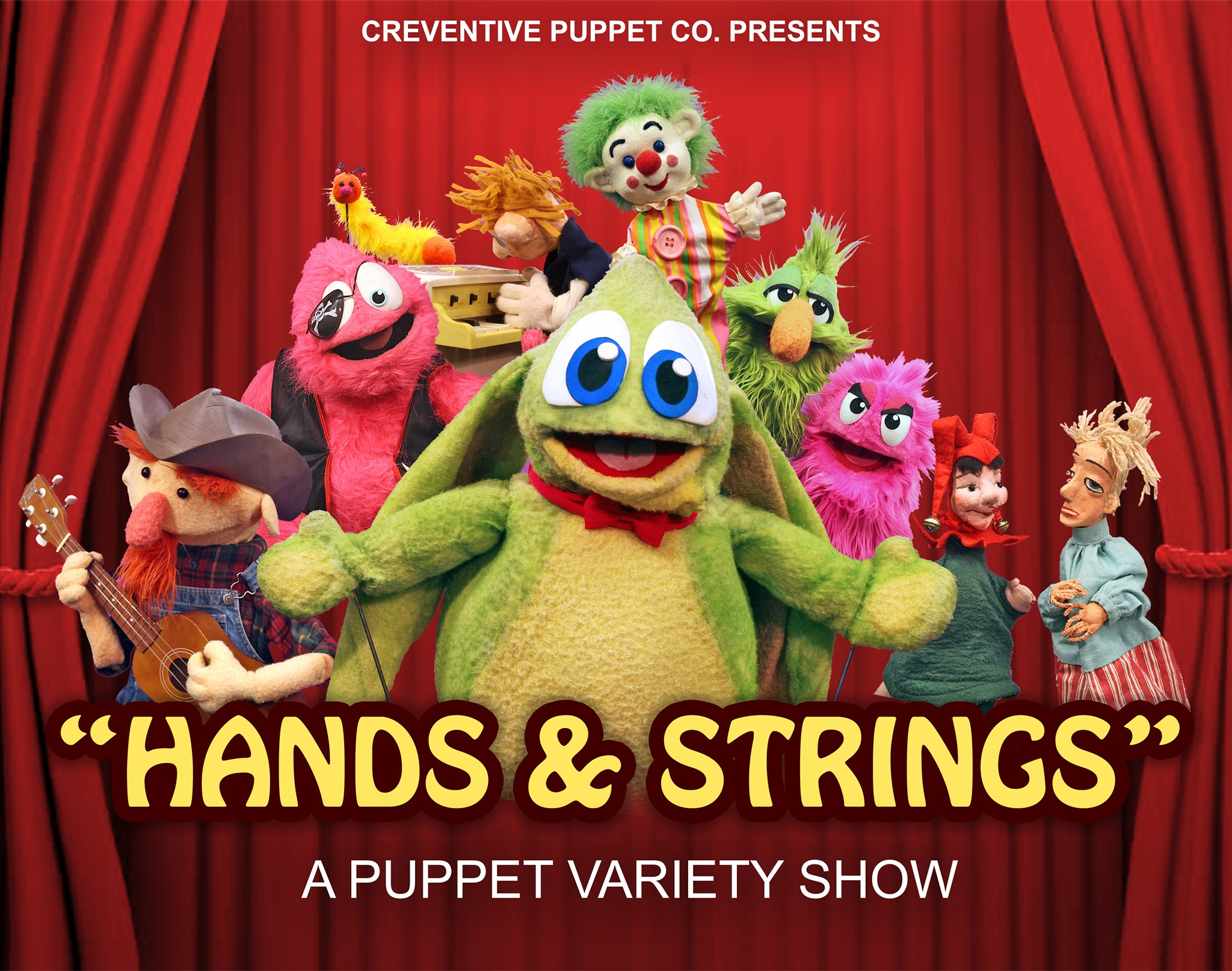 Family Fun Fridays: Puppet Variety Show at Cultural & Civic Center of Round Lake Beach